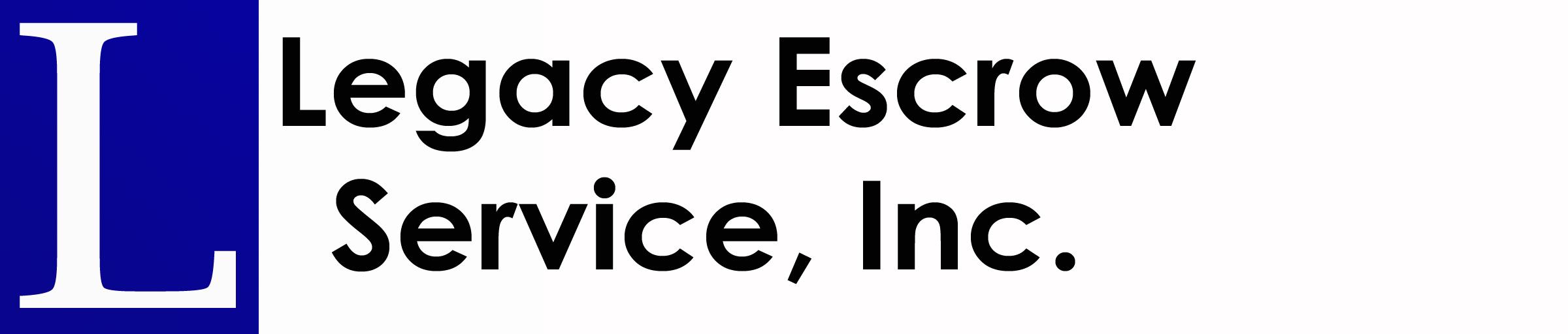 Legacy Escrow Service